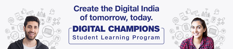 Reliance Jio Digital Champions Program Banner